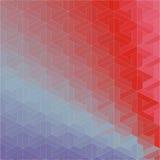 Абстрактная геометрическая безшовная картина Стоковое Изображение