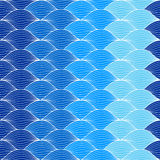 Абстрактная геометрическая волна картины Стоковые Изображения