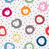 абстрактная геометрическая картина безшовная Нарисованный вручную с грубой щеткой бесплатная иллюстрация