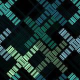 абстрактная геометрическая картина безшовная Предпосылка вектора с геометрическими формами бесплатная иллюстрация