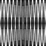 абстрактная геометрическая картина безшовная черная белизна картины Стоковое Изображение