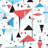 абстрактная геометрическая картина безшовная Стоковые Фото