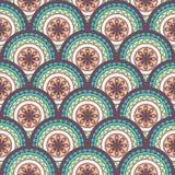 абстрактная геометрическая картина безшовная Стоковое Изображение RF