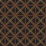 Абстрактная геометрическая картина вектора в естественном множественном коричневом цвете Стоковые Фотографии RF