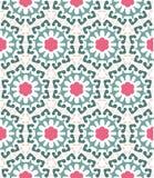 Абстрактная геометрическая картина, флористическая предпосылка Стоковое Фото