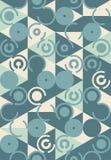 Абстрактная геометрическая картина Стоковое Фото