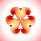 абстрактная геометрическая картина Стоковое Изображение
