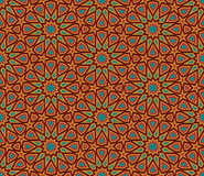 Абстрактная геометрическая красочная безшовная предпосылка бесплатная иллюстрация