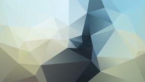 Абстрактная геометрическая низкая поли предпосылка Стоковое фото RF