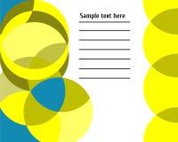 Абстрактная геометрическая предпосылка с картиной и полигонами Стоковая Фотография RF