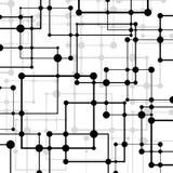 Абстрактная геометрическая предпосылка с квадратами Стоковые Фото