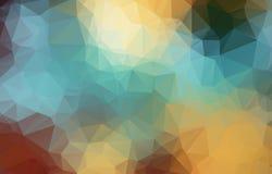 Абстрактная геометрическая предпосылка с полигонами Состав графиков информации с геометрическими формами Ретро конструкция ярлыка Стоковые Изображения RF