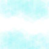 Абстрактная геометрическая предпосылка вектора в голубых цветах Стоковые Фотографии RF