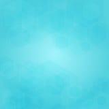 Абстрактная геометрическая предпосылка вектора в голубых цветах Стоковые Изображения