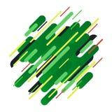 Абстрактная геометрическая предпосылка от прокладок иллюстрация штока