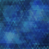 Абстрактная геометрическая предпосылка состоя из перекрывающ триангулярные элементы различных размеров Стоковые Фотографии RF