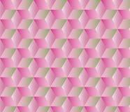 Абстрактная геометрическая предпосылка с кубами Стоковое Изображение