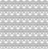 Абстрактная геометрическая предпосылка с равновеликими кубами Стоковое Изображение RF