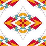 Абстрактная геометрическая предпосылка с треугольниками Стоковые Фото