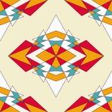 Абстрактная геометрическая предпосылка с треугольниками Стоковая Фотография RF