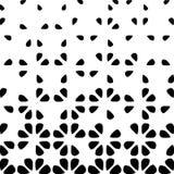 Абстрактная геометрическая предпосылка с умаляя элементами Стоковое Фото