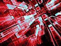 Абстрактная геометрическая предпосылка - цифров произведенное изображение Стоковые Фото