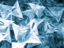 Абстрактная геометрическая предпосылка - цифров произведенное изображение Стоковое фото RF