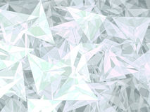 Абстрактная геометрическая предпосылка - цифров произведенное изображение Стоковая Фотография