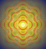 Абстрактная геометрическая предпосылка шаблона также вектор иллюстрации притяжки corel Стоковые Изображения