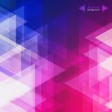 Абстрактная геометрическая предпосылка для дела, веб-дизайна, печати или представления Стоковое Фото