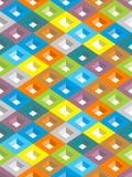 Абстрактная геометрическая предпосылка Стоковая Фотография RF