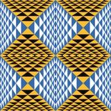 Абстрактная геометрическая предпосылка 3d безшовно Стоковые Изображения RF