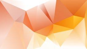 Абстрактная геометрическая предпосылка Lowpoly Стоковые Фотографии RF