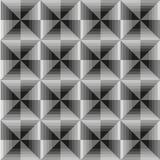 Абстрактная геометрическая серая безшовная предпосылка Стоковые Фотографии RF