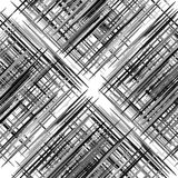 Абстрактная геометрическая текстура, картина с динамическими случайными линиями A иллюстрация вектора