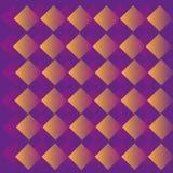 Абстрактная геометрическая фиолетовая картина Стоковая Фотография RF