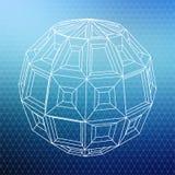 Абстрактная геометрическая форма Стоковое Изображение