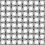 Абстрактная геометрическая monochrome картина с необыкновенным Стоковые Изображения RF