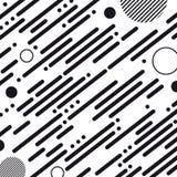 Абстрактная геометрическая Striped предпосылка - иллюстрация вектора на белой предпосылке иллюстрация вектора