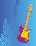 абстрактная гитара Стоковая Фотография