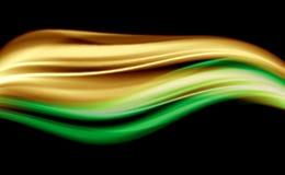 абстрактная глянцеватая волна Стоковые Фотографии RF