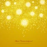 Абстрактная глянцеватая предпосылка рождества Стоковое Фото