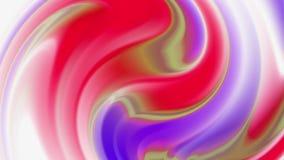 Абстрактная голографическая предпосылка фольги, волнистая поверхность, пульсации, ультрамодная живая текстура, ткань моды, неонов акции видеоматериалы