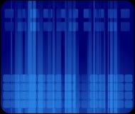 абстрактная голубая визитная карточка иллюстрация штока