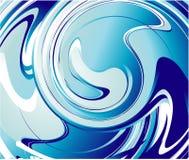 абстрактная голубая вода Стоковые Изображения RF