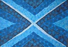 абстрактная голубая картина безшовная Нарисовано вручную иллюстрация штока
