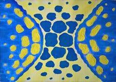 абстрактная голубая картина безшовная Нарисовано вручную иллюстрация вектора
