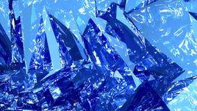 Абстрактная голубая компьютерная графика предпосылки Стоковая Фотография RF