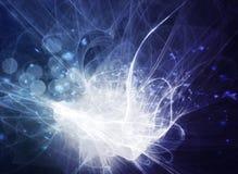 абстрактная голубая конструкция Стоковое фото RF