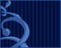 абстрактная голубая надпись на стенах любит Стоковая Фотография RF